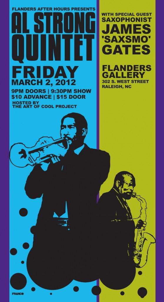 Friday night jazz at Flanders Art Gallery