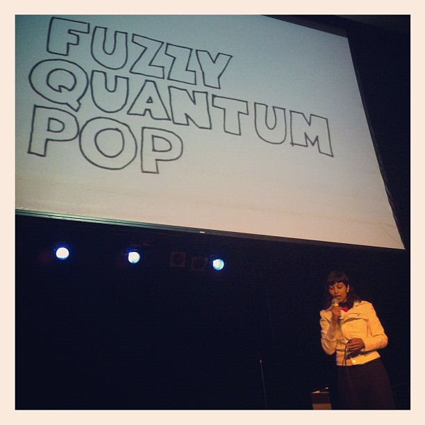 Fuzzy quantum pop: a 5-min video for @igniteraleigh