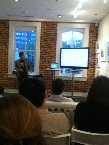 #WordPress meetup at @fathomcreative in DC