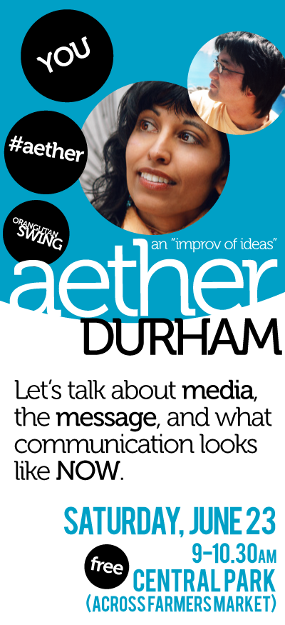 #Aether #Durham set for Saturday, June 23!