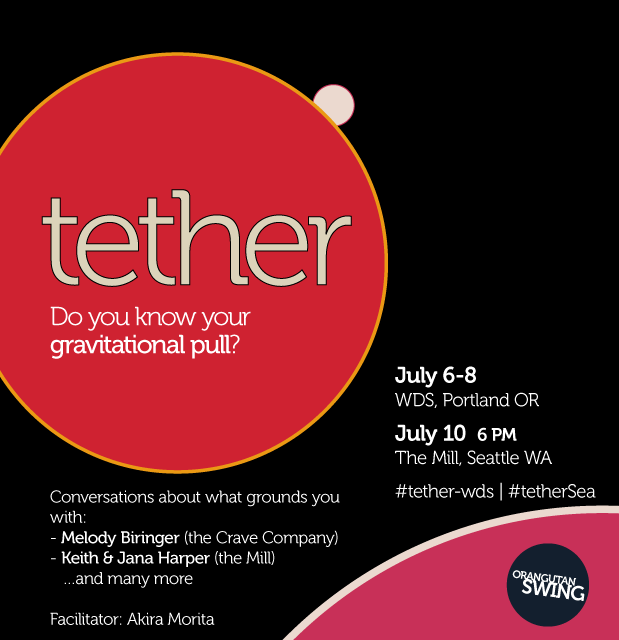 Tether is a conversation series on what grounds you
