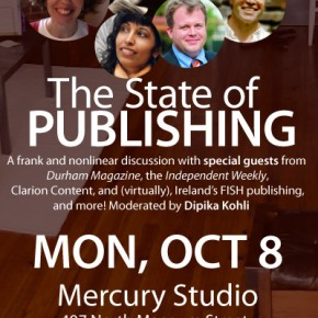 Announcing guests for 'State of Publishing' roundtable!