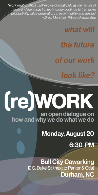 (re)WORK dialogue set for Monday