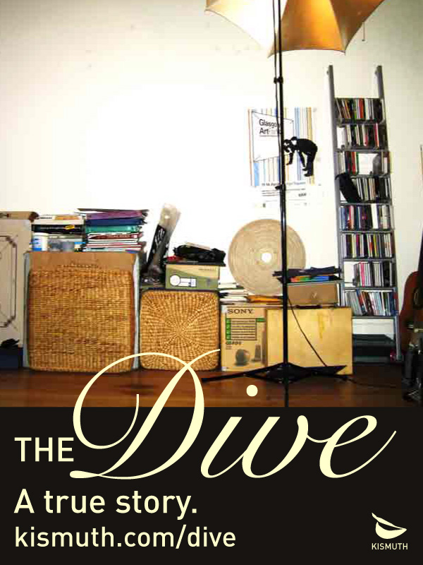 Reading from The Dive, a memoir