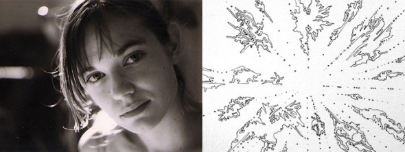 Sarah Goetz will create an abstract ink & watercolor drawing from your chosen word. $250 pledge.