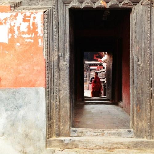 A passageway to...